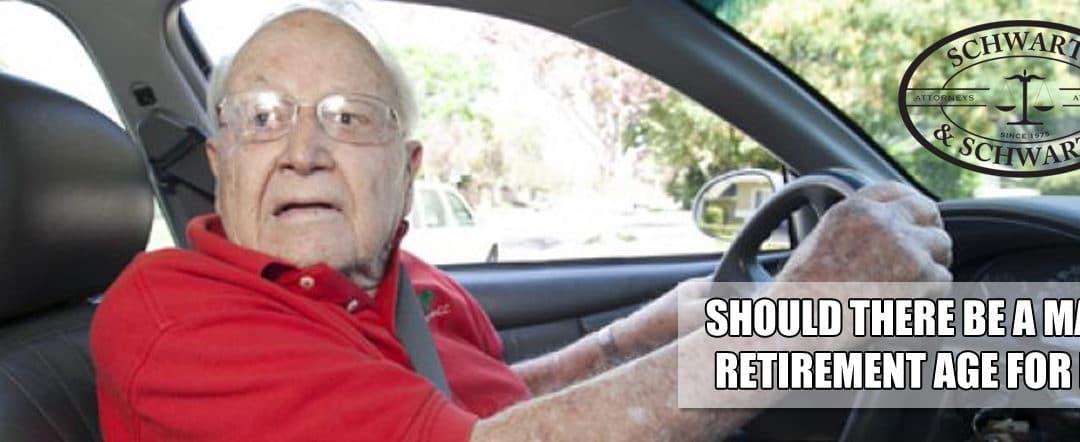 Mandatory Retirement Age for Driving