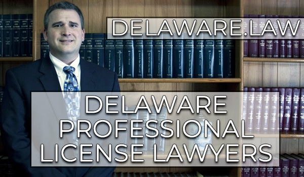 Delaware Professional Regulation License Attorney - Rob Collins